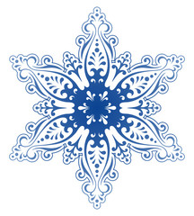 decorative snowflake ornament