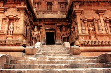 Keuken foto achterwand India india, south-india, tanjore: brihadishvara temple