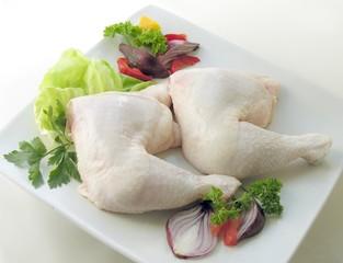 chicken two legs