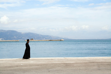 the priest and the sea