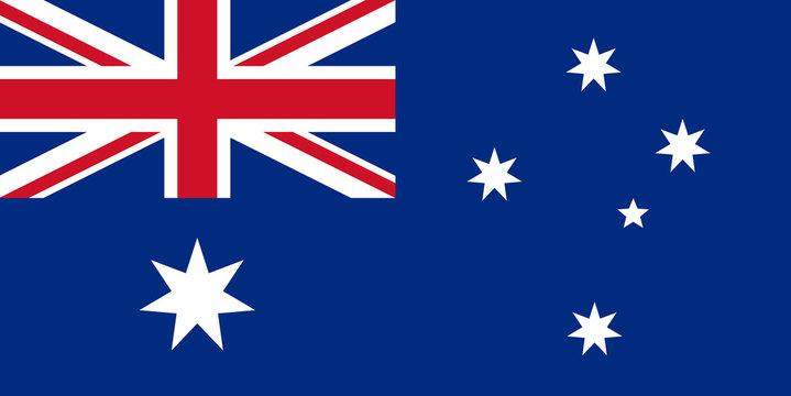 australia flag australien fahne