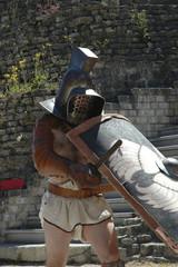Printed kitchen splashbacks Knights gladiateur 1