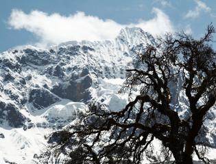 cordilleras mountain in the peru