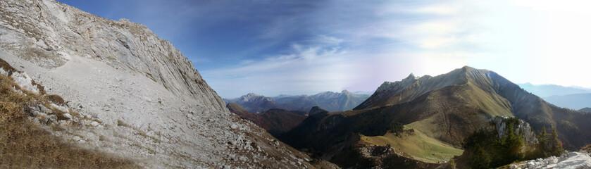paysage alpages