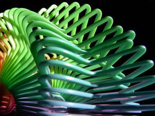 plastic swirl