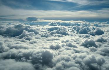 Spoed Fotobehang Hemel above clouds
