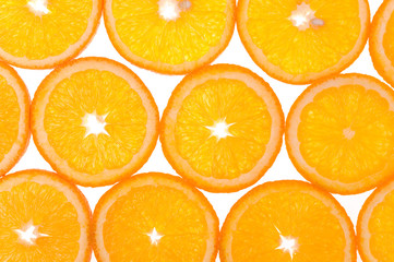 orange fruits pattern