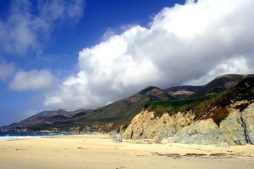 beach on big sur