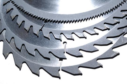 circular saw blades with various numbers of teeth