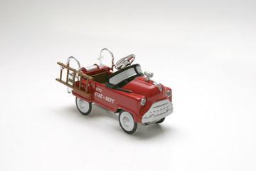 pedal car - fire truck