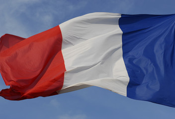 french windy flag