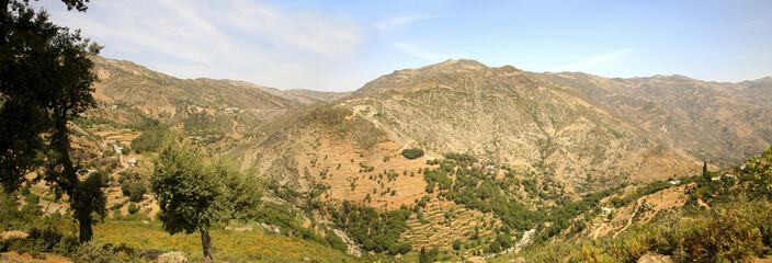 la région du rif au maroc