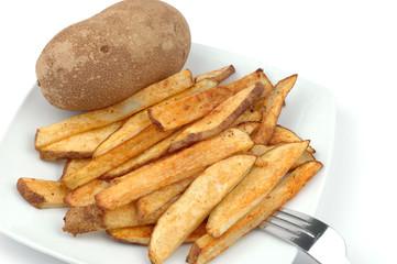 fries and potato