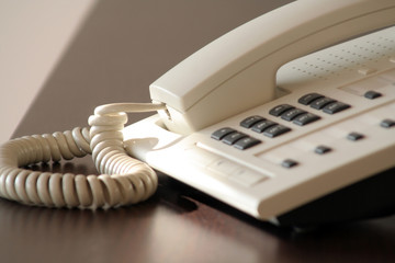 telefon auf tresen