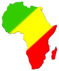 carte de l' afrique