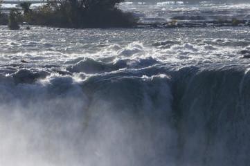 niagara fälle - horseshoe falls (canadian falls)