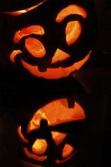reflet citrouille halloween