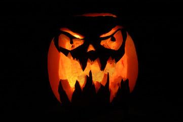 citrouille halloween enflammée 4