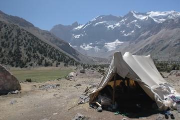 herder's tent