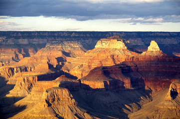 grand canyon from bright angel lodge