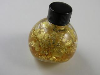 bottle of gold