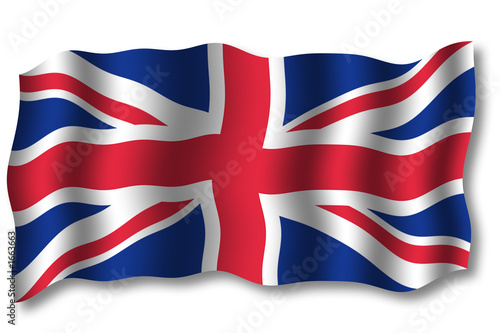 flagge gro britannien 2006 im wind stockfotos und. Black Bedroom Furniture Sets. Home Design Ideas