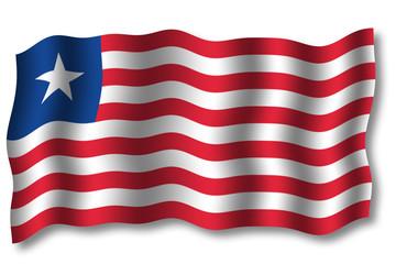 flagge liberia 2006 im wind