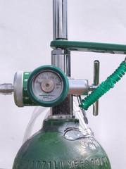 oxygen tank and regulator