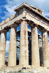 columns of the acropolis