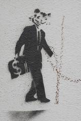 cat-man graffiti