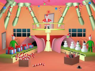 santa's factory