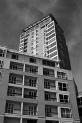 block of flats canary wharf london