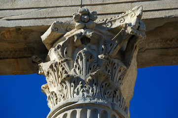 particular of colonne di san lorenzo milano