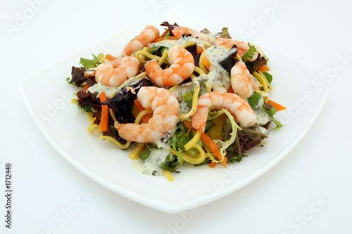 Диетический салат для похудения из морепродуктов: рецепт