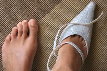 pieds de femme