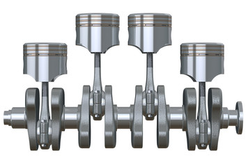 pistons & crankshaft