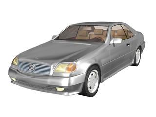 automobile de luxe grise