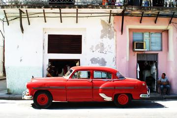 Türaufkleber Autos aus Kuba havana car