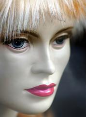 blue eyes mannequin