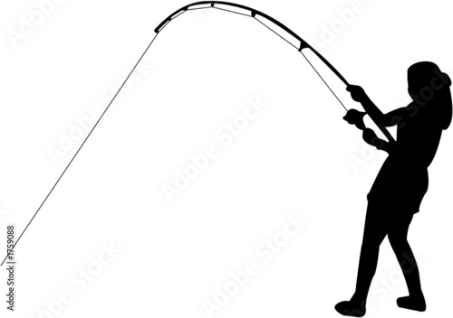 Fishing Silhouette Stock Photo And Royalty Free Images