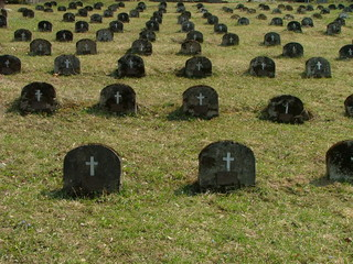 simple ancient burial ground