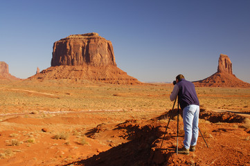 photographing monument valley 1