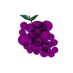 grapes as art