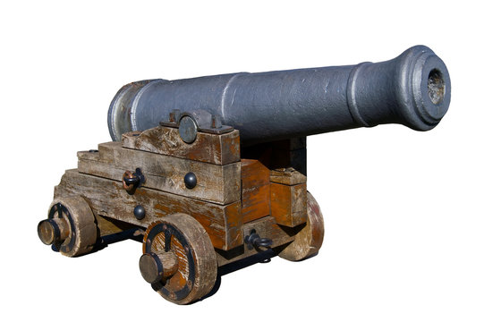 old spanish cannon