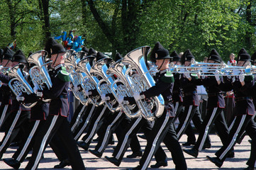 norwegian marching band