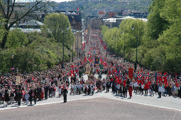 children's parade, oslo, norway