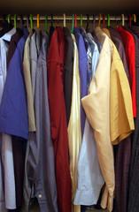 man's closet