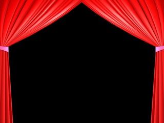 Photos illustrations et vid os de rideaux rouges - Location de rideaux de scene ...