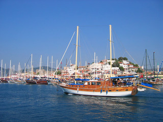 turkey sailboat