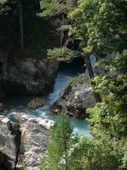 gorge, ravine, canyon